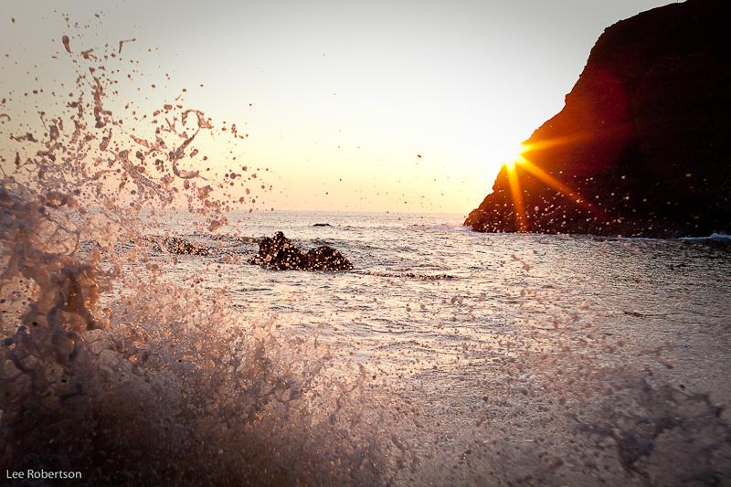 Duckpool Sunset