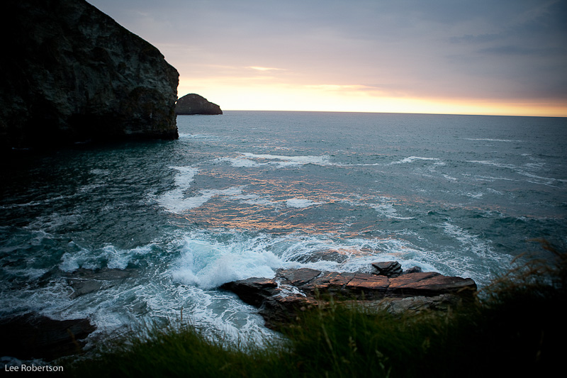 Trebarwith Evening